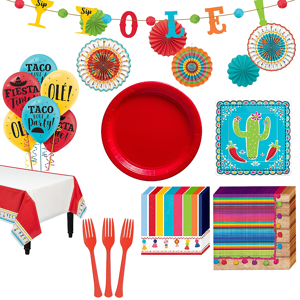 Cinco De Mayo Party Kit for 16 Guests Image #1