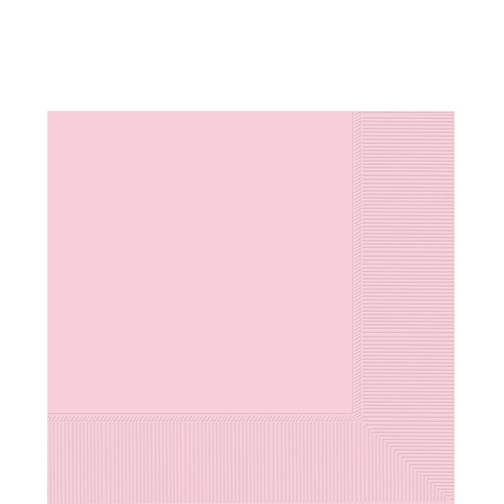 Premium Glitter Rose-Gold & White Tableware Kit 20 Guests Image #4