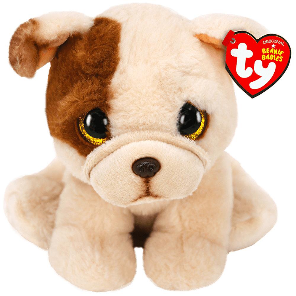 Houghie Beanie Babies Tan Pug Plush Image #1