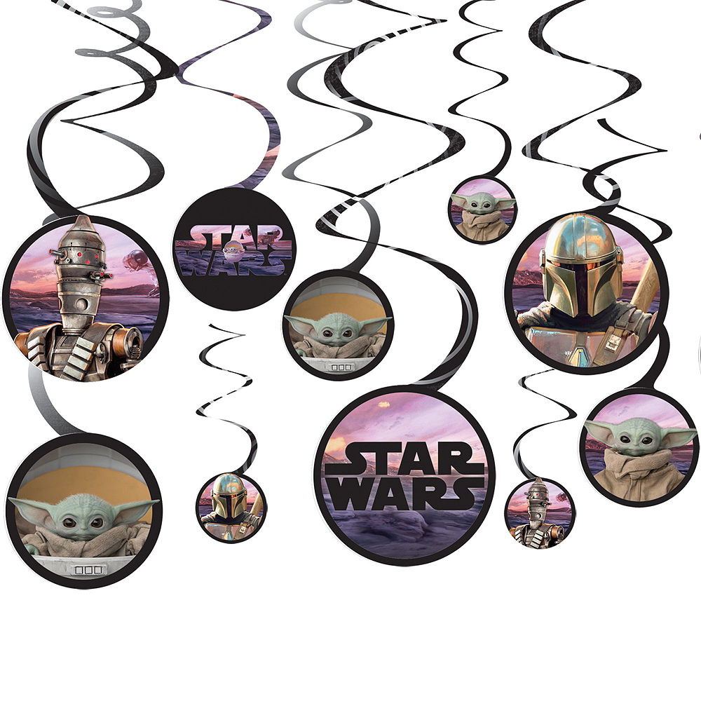 The Mandalorian Birthday Tableware Kit for 16 Guests Image #8