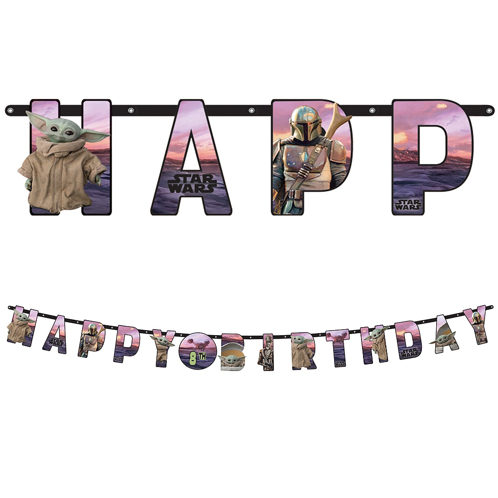 The Mandalorian Birthday Tableware Kit for 24 Guests Image #8