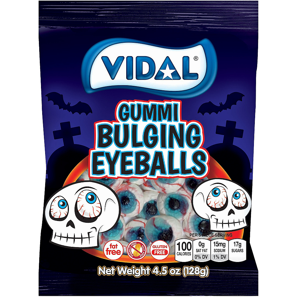 Gummi Bulging Eyeball Candies, 16pc Image #1
