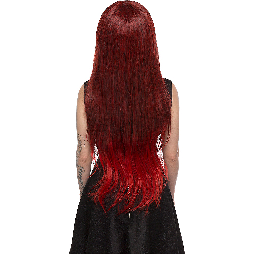 Red Wine Ombre Wig Image #2