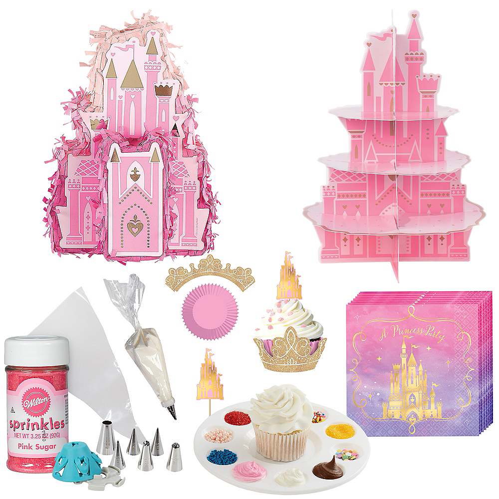Build a Disney Princesses Cupcake Castle in a Box Image #1
