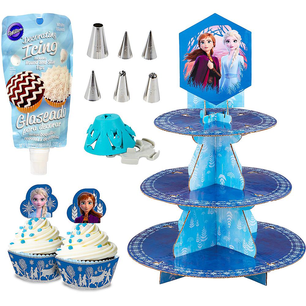 Frozen 2 Super Fun Cupcake Decorating in a Box Image #1