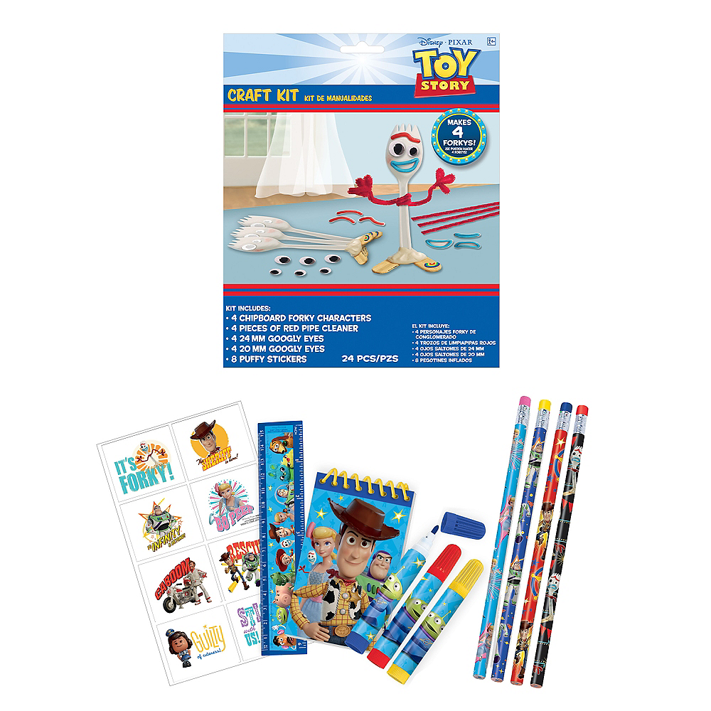 Toy Story 4 Color & Doodle Crafts in a Box Image #1