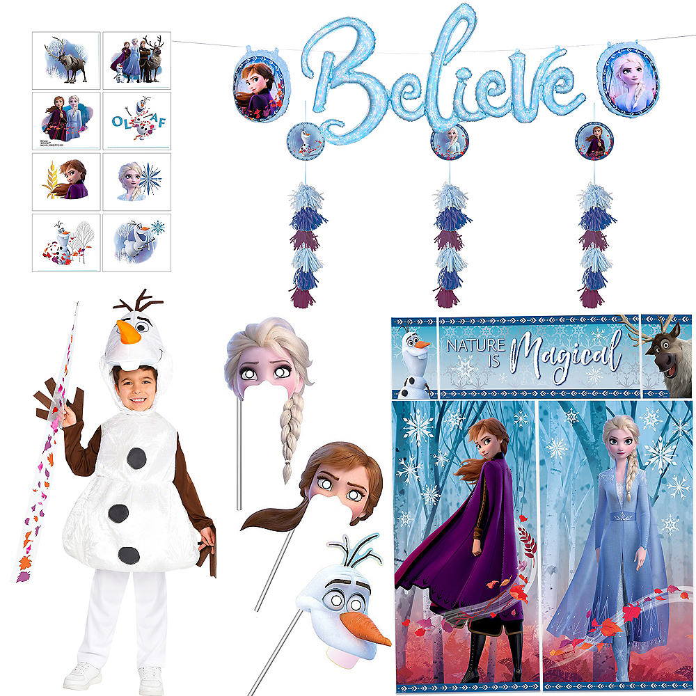Instant Olaf & Castle Transformation in a Box Image #1