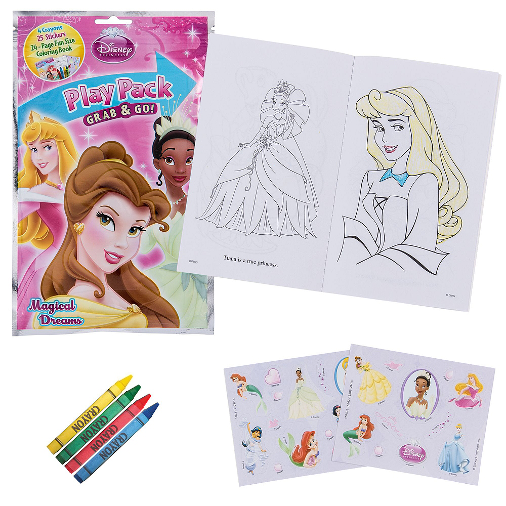 Girls Assorted Coloring Books & Brain Teasers in a Box Image #3