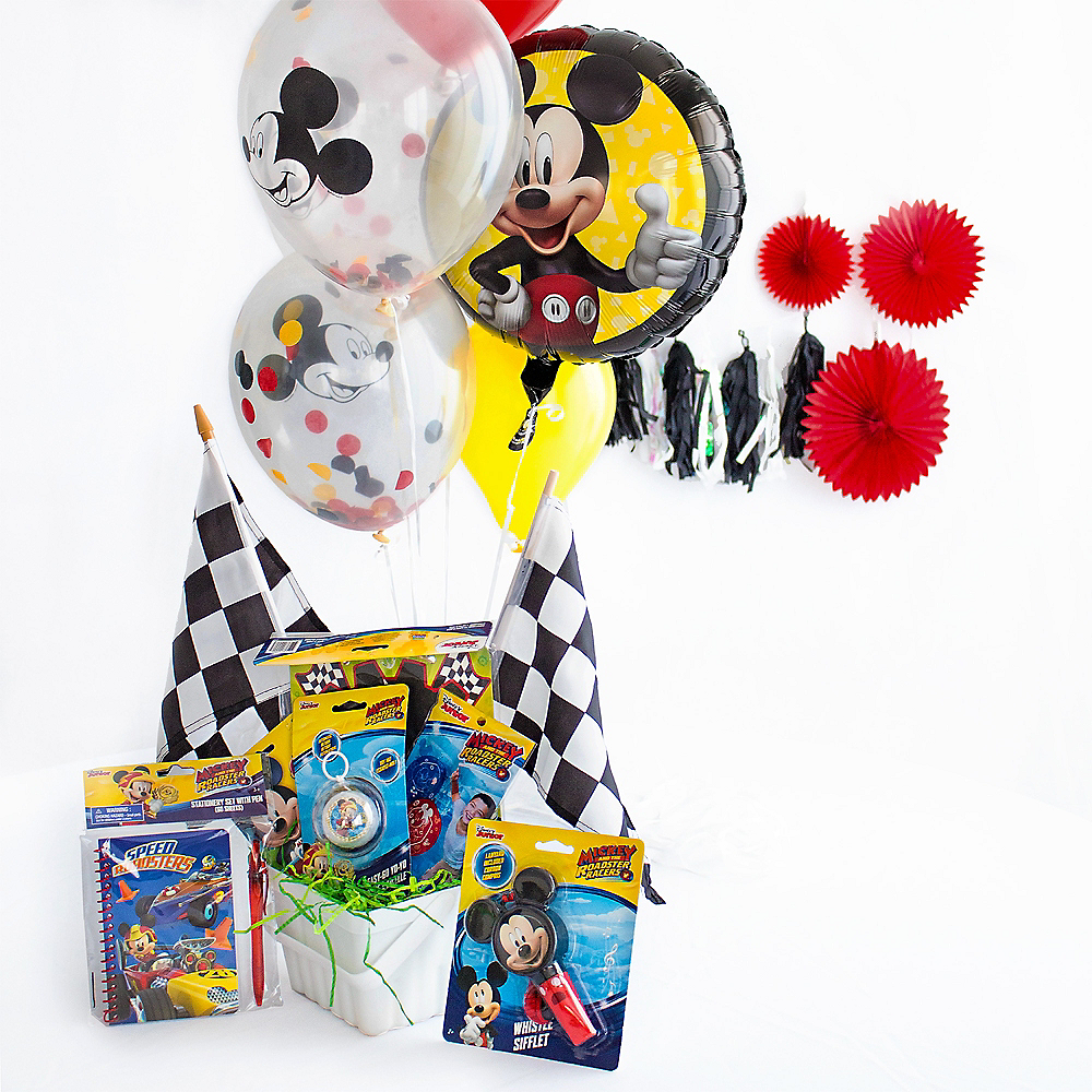 Ultimate Mickey Mouse Roadster Easter Basket Image #1