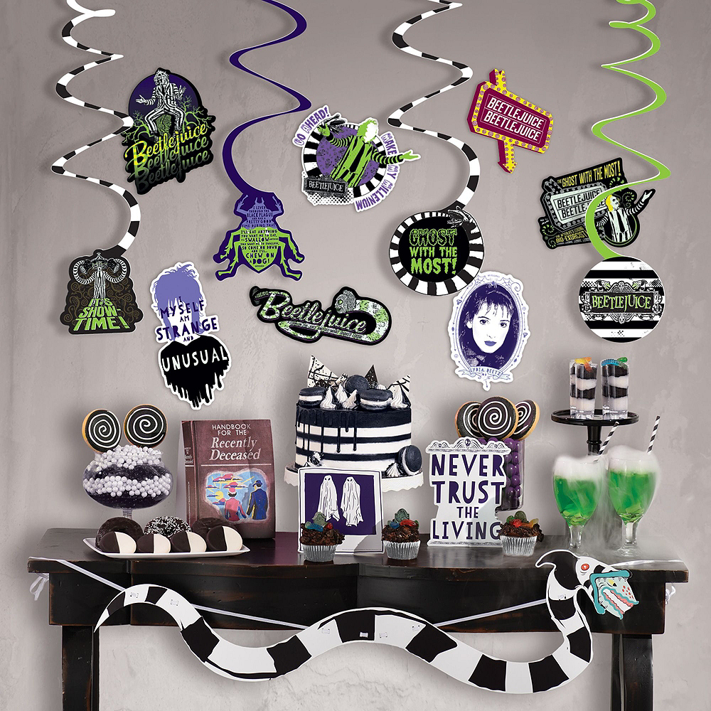 Nav Item for Beetlejuice Wall & Window Decorating Kit Image #2