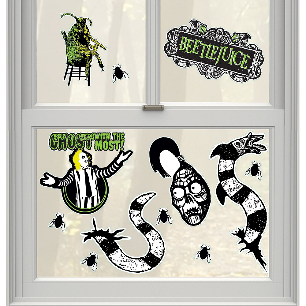 Nav Item for Beetlejuice Wall & Window Decorating Kit Image #3