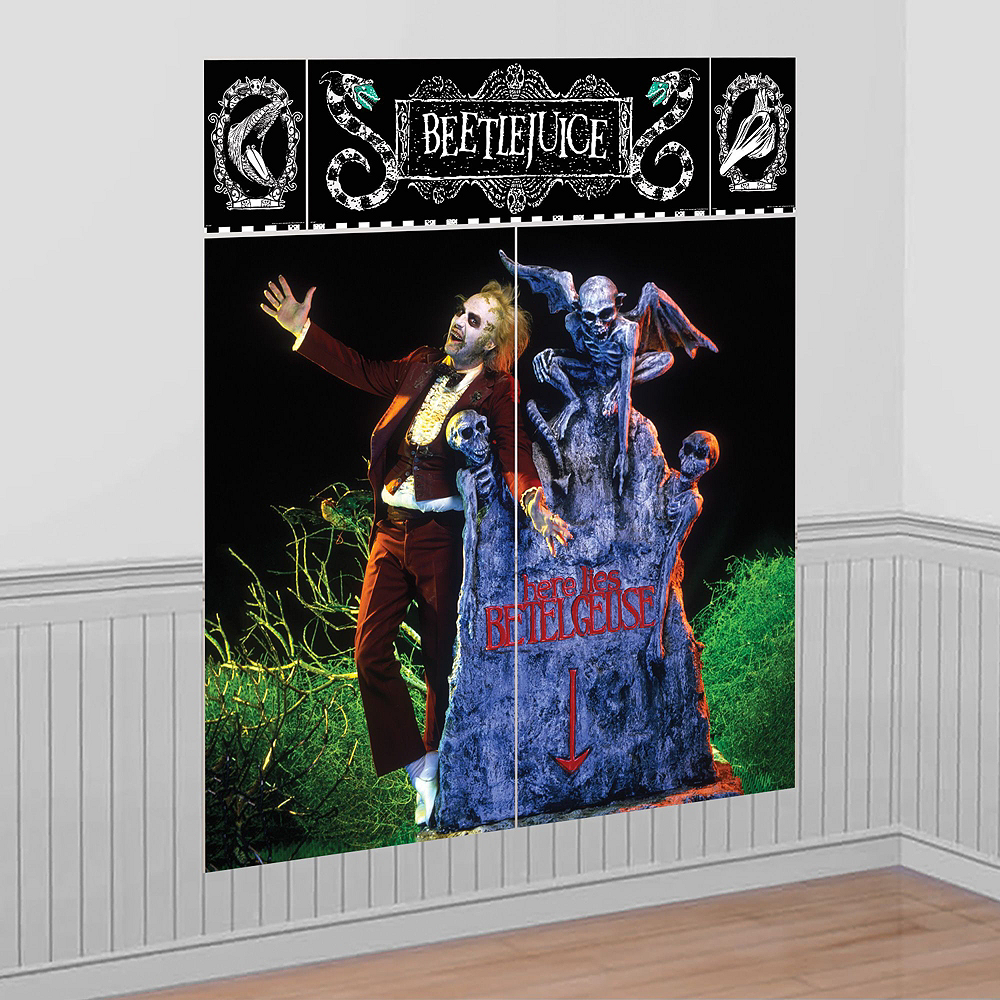Nav Item for Beetlejuice Wall & Window Decorating Kit Image #4