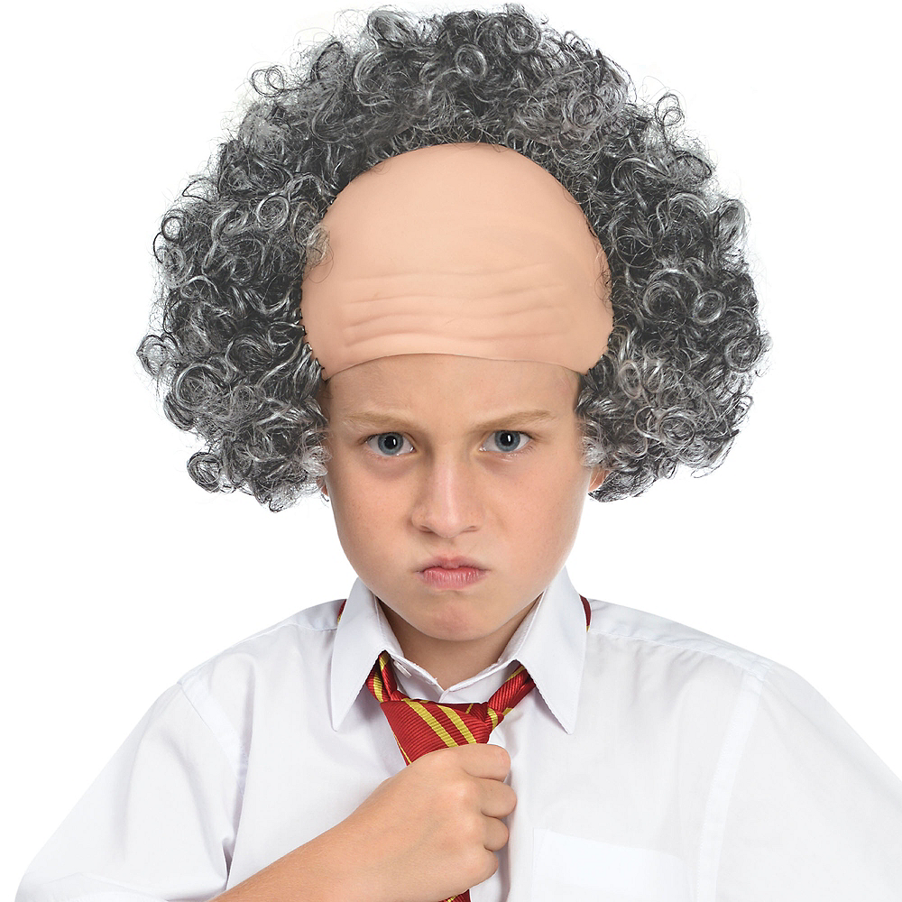 Child Balding Old Man Wig Image #1