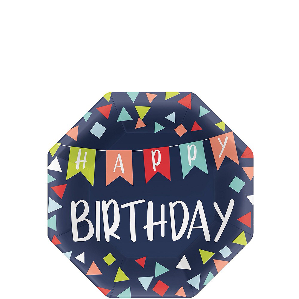 A Reason to Celebrate Birthday Tableware Kit for 8 Guests Image #2