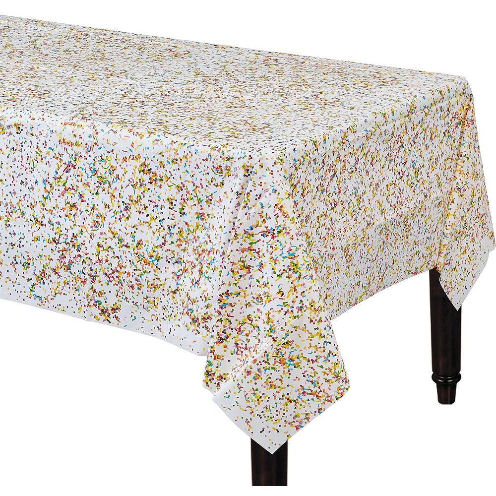Rainbow Sprinkles Birthday Tableware Kit for 8 Guests Image #6