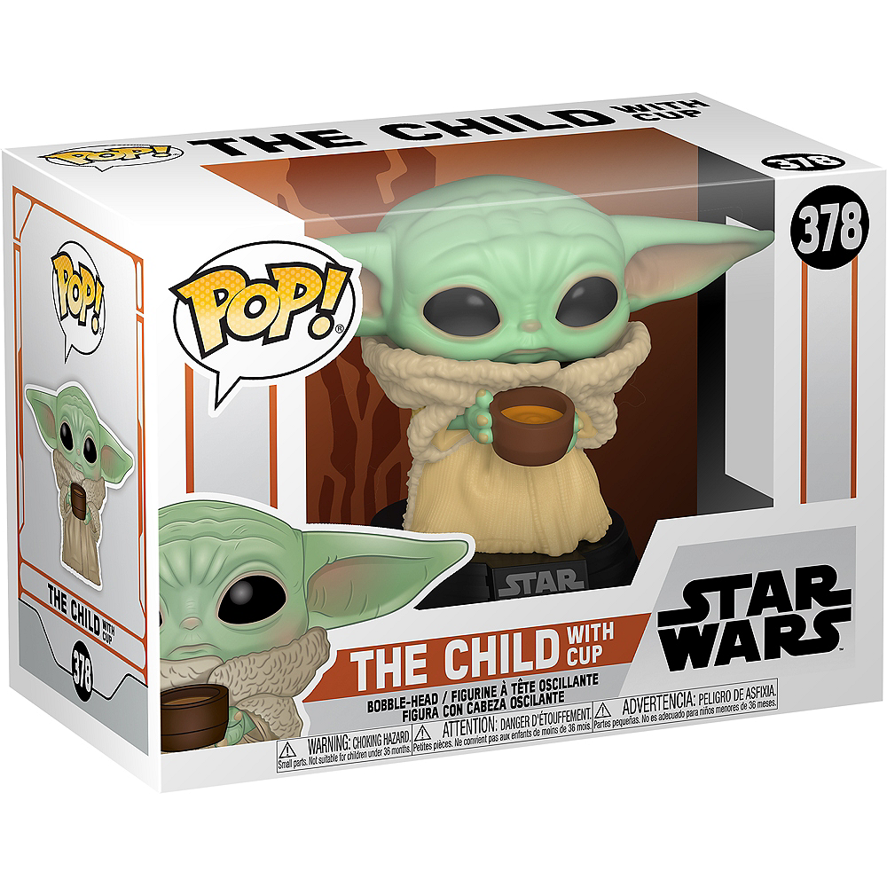 Nav Item for Funko POP! The Child with Bone Broth - Mandalorian Image #1