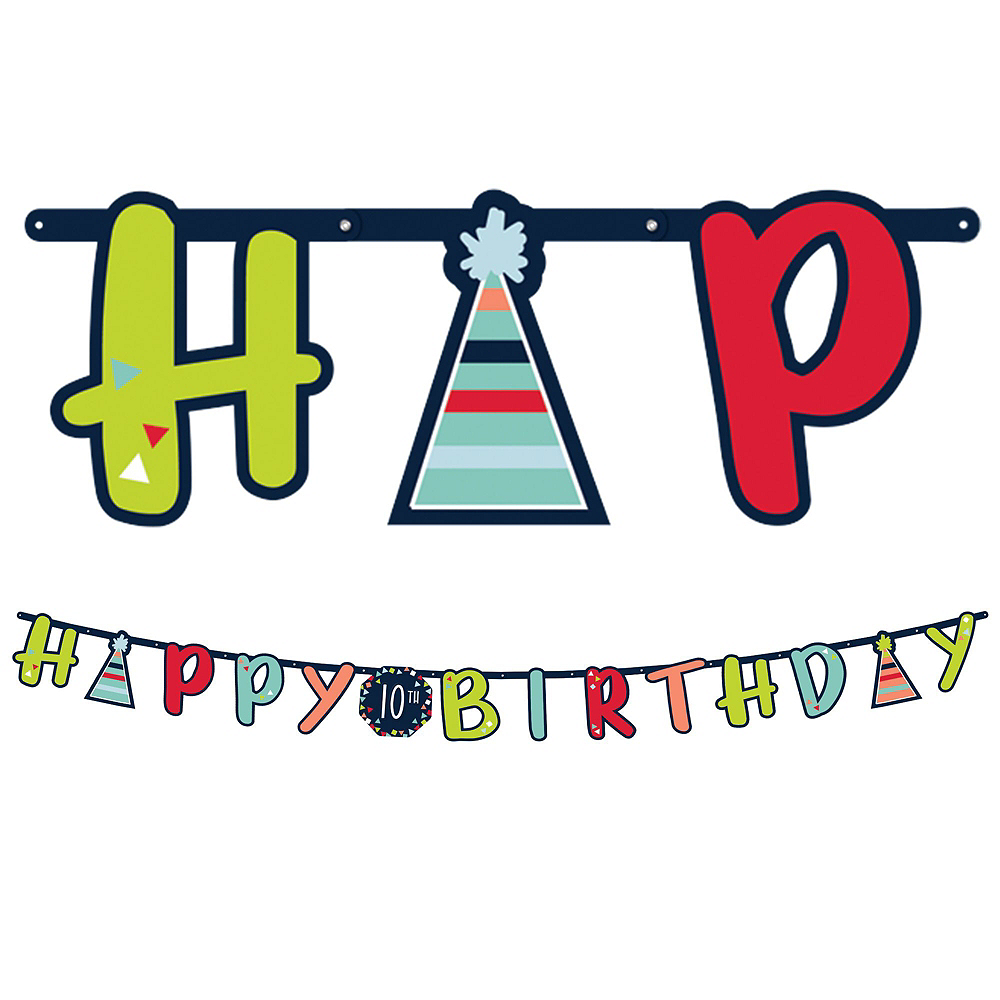 Rainbow Happy Birthday Kit Image #9