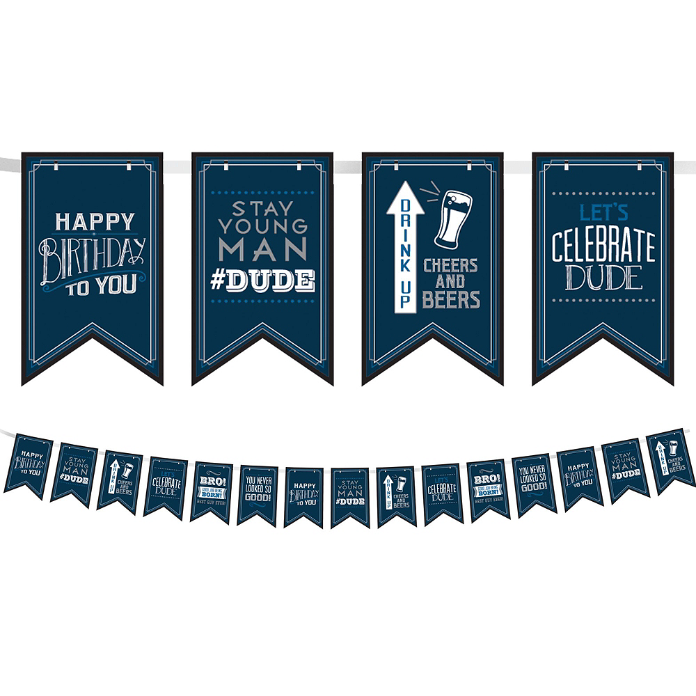 Vintage Happy Birthday Party Kit Image #3