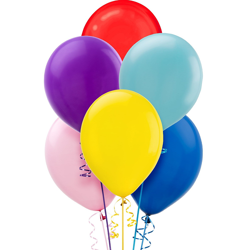 Multicolor Front Yard Birthday Balloon Display Kit Image #3