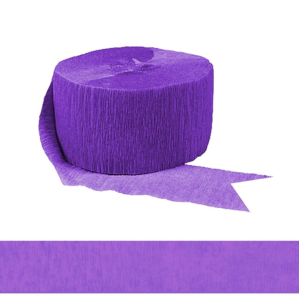 Purple & White Car Decorating Kit Image #9