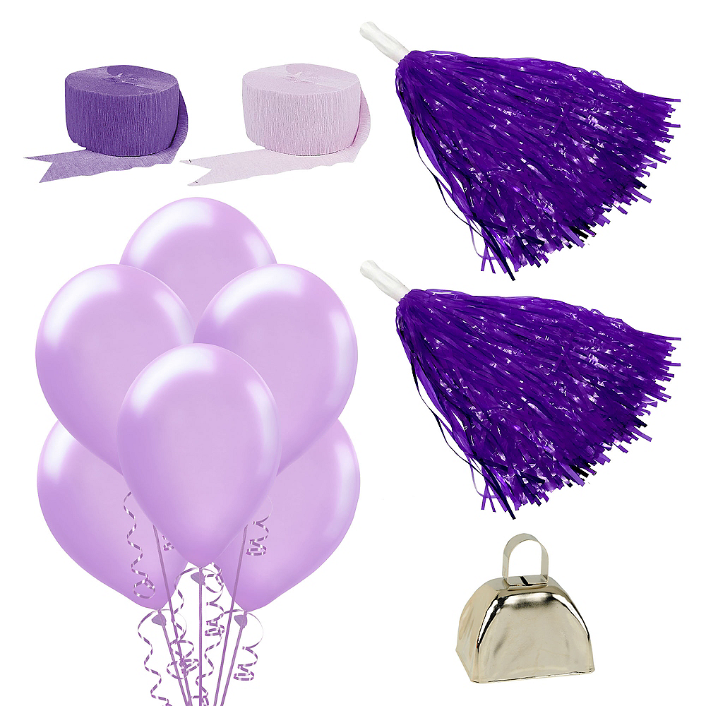 Shades of Purple Car Decorating Kit Image #1