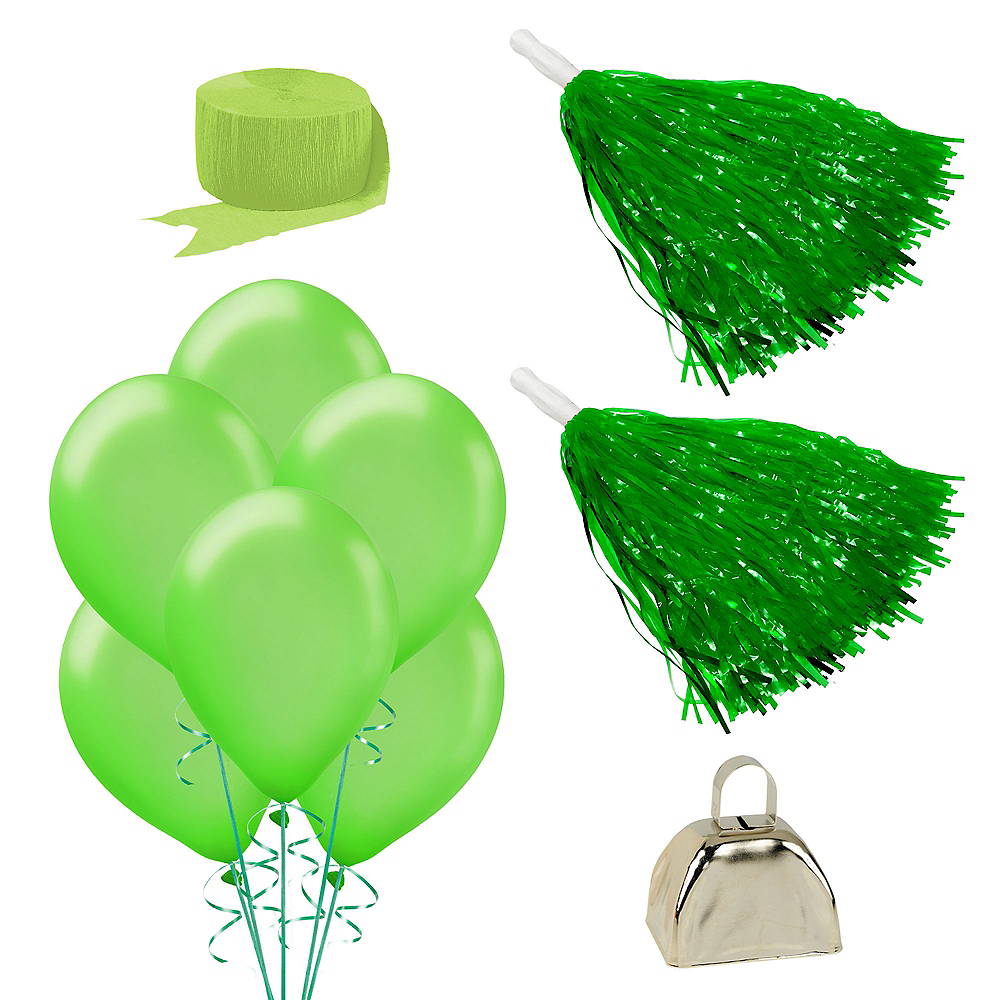 Nav Item for Shades of Green Car Decorating Kit Image #1