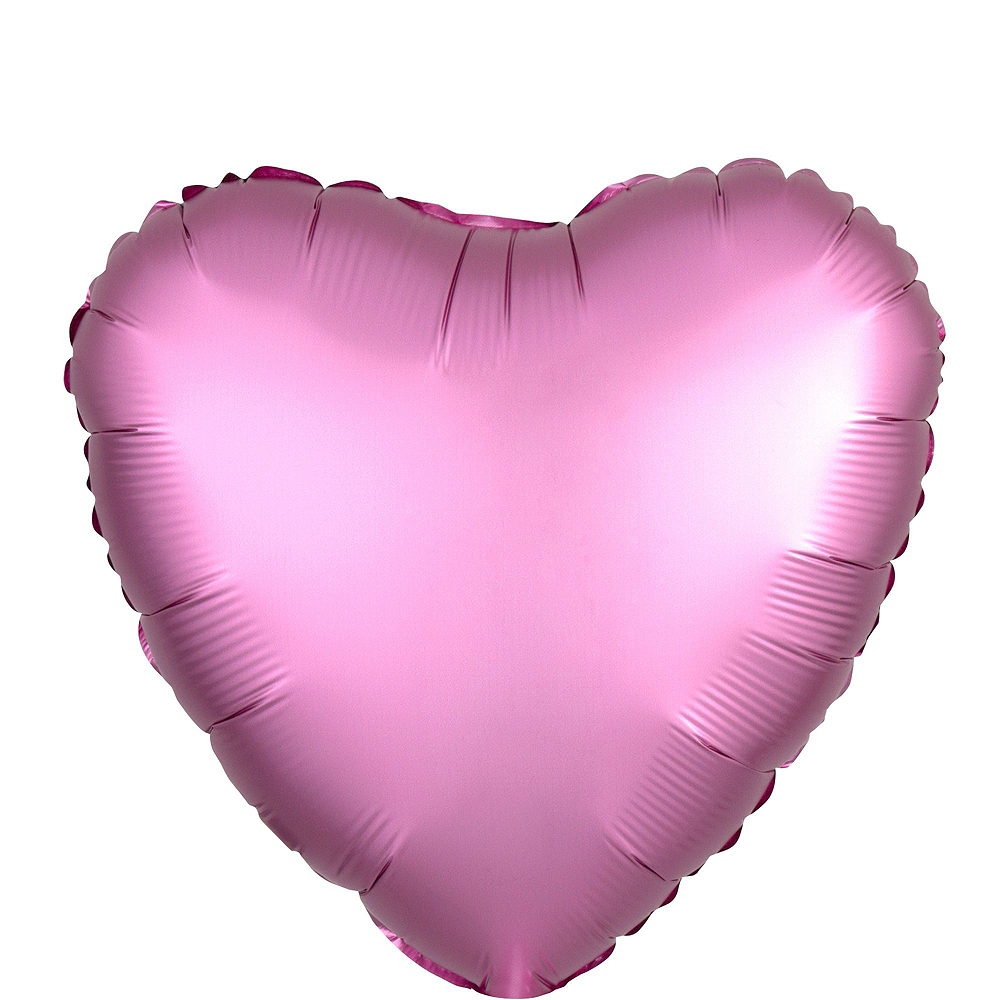 Assorted Color Heart Balloon Bouquet, 12pc, with Helium Tank Image #12