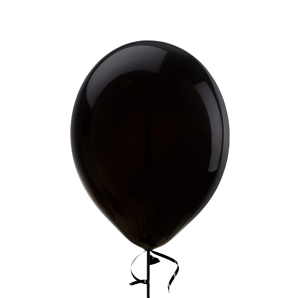 Black Balloon, 12in, 1ct Image #1