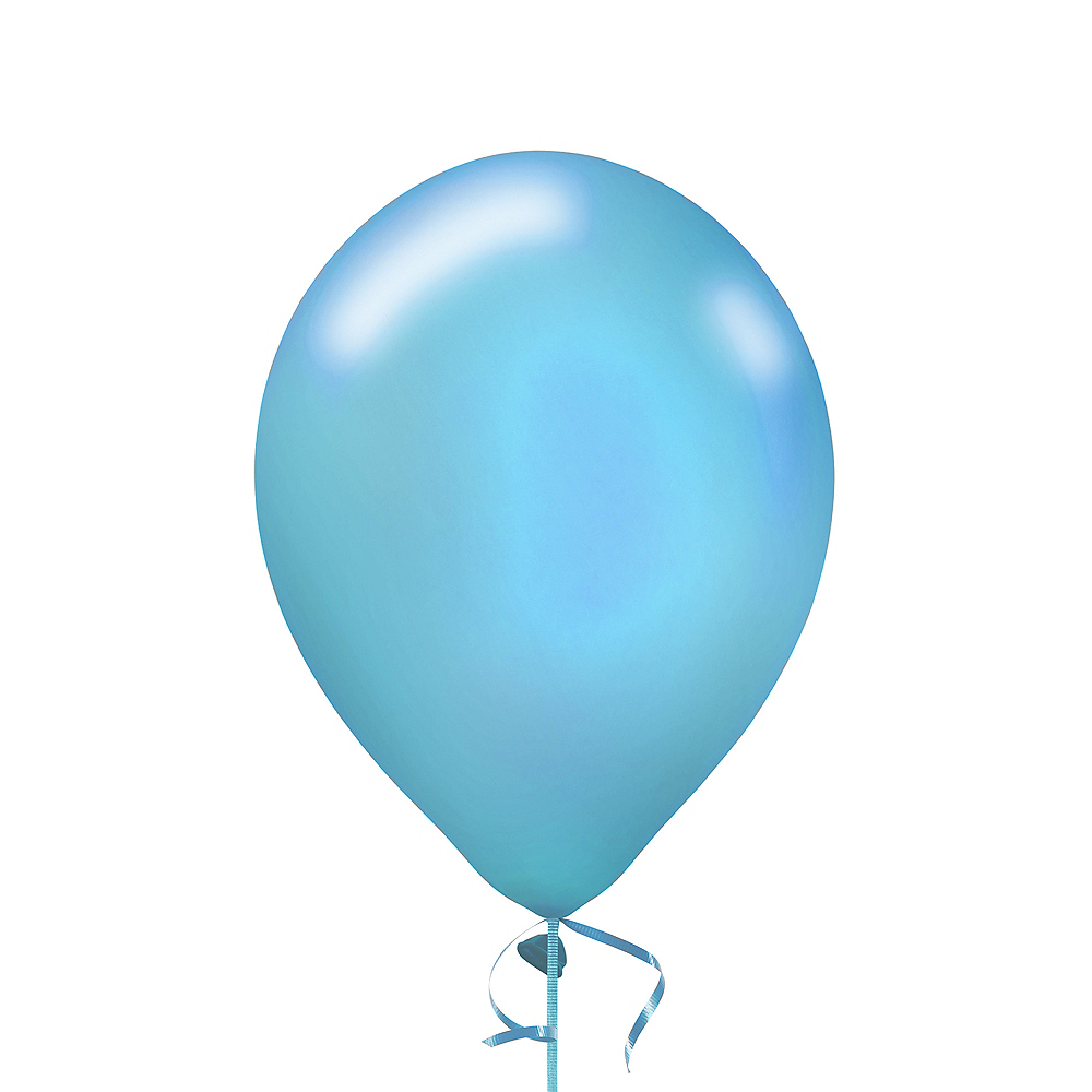 Powder Blue Pearl Balloon, 12in, 1ct Image #1