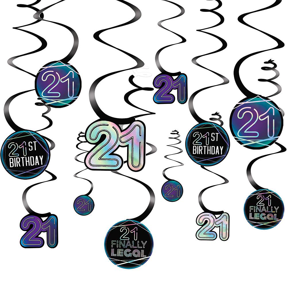 Finally 21 Birthday Decorating Kit Image #4
