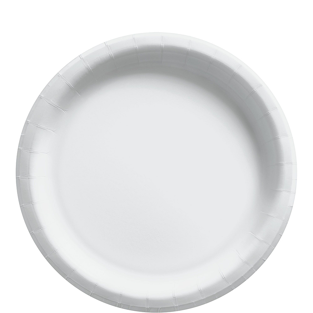 White Paper Tableware Kit for 20 Guests Image #3