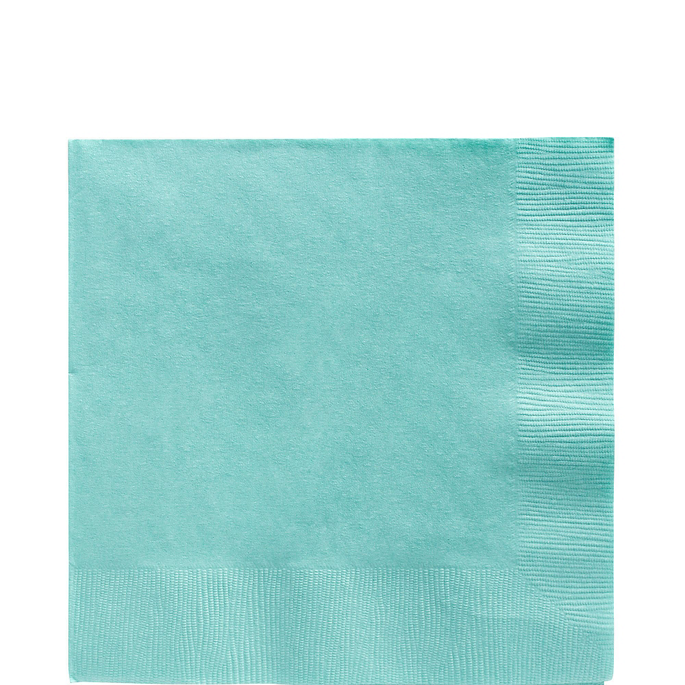 Robin's Egg Blue Paper Tableware Kit for 20 Guests Image #5