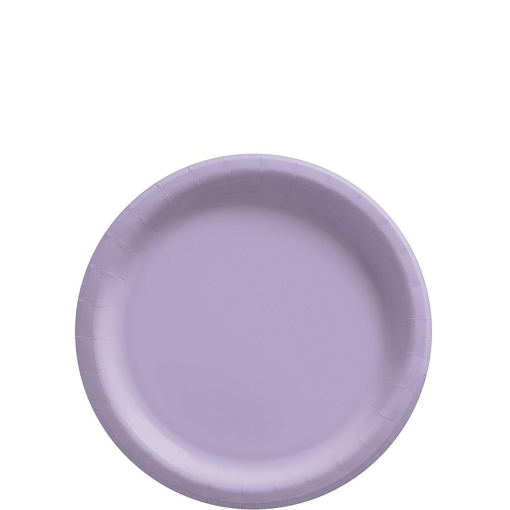 Lavender Paper Tableware Kit for 20 Guests Image #2
