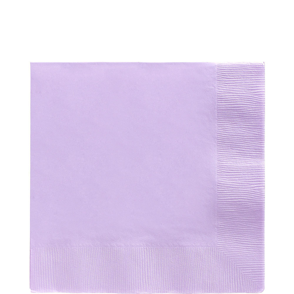 Lavender Paper Tableware Kit for 20 Guests Image #5