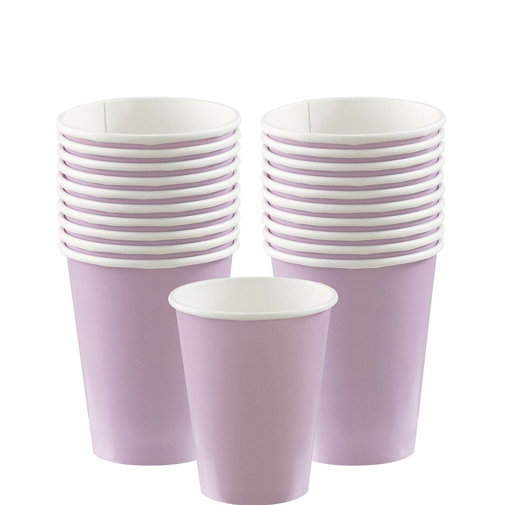 Lavender Paper Tableware Kit for 20 Guests Image #6