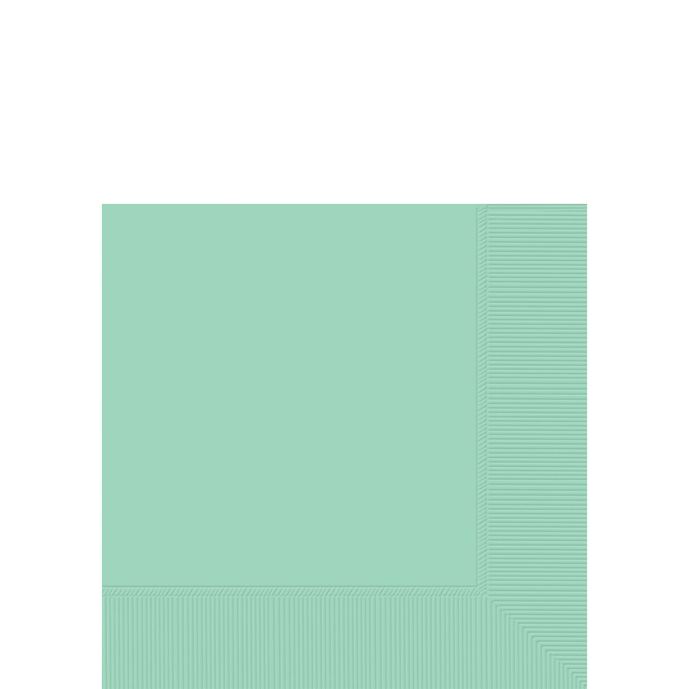 Mint Green Paper Tableware Kit for 20 Guests Image #4