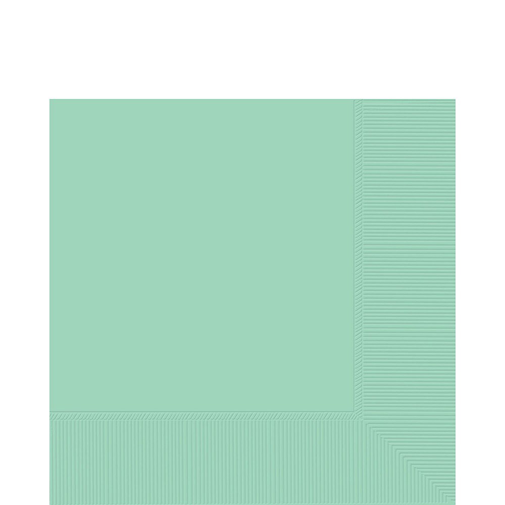 Mint Green Paper Tableware Kit for 20 Guests Image #5