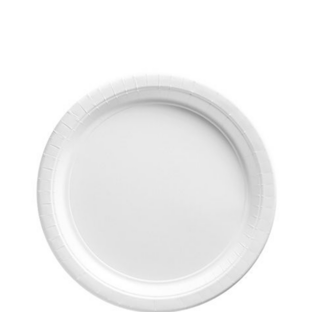 White Tableware Kit for 20 Guests Image #2