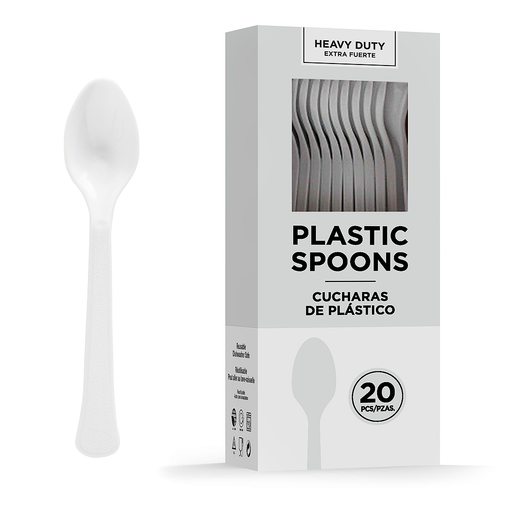 White Tableware Kit for 20 Guests Image #8