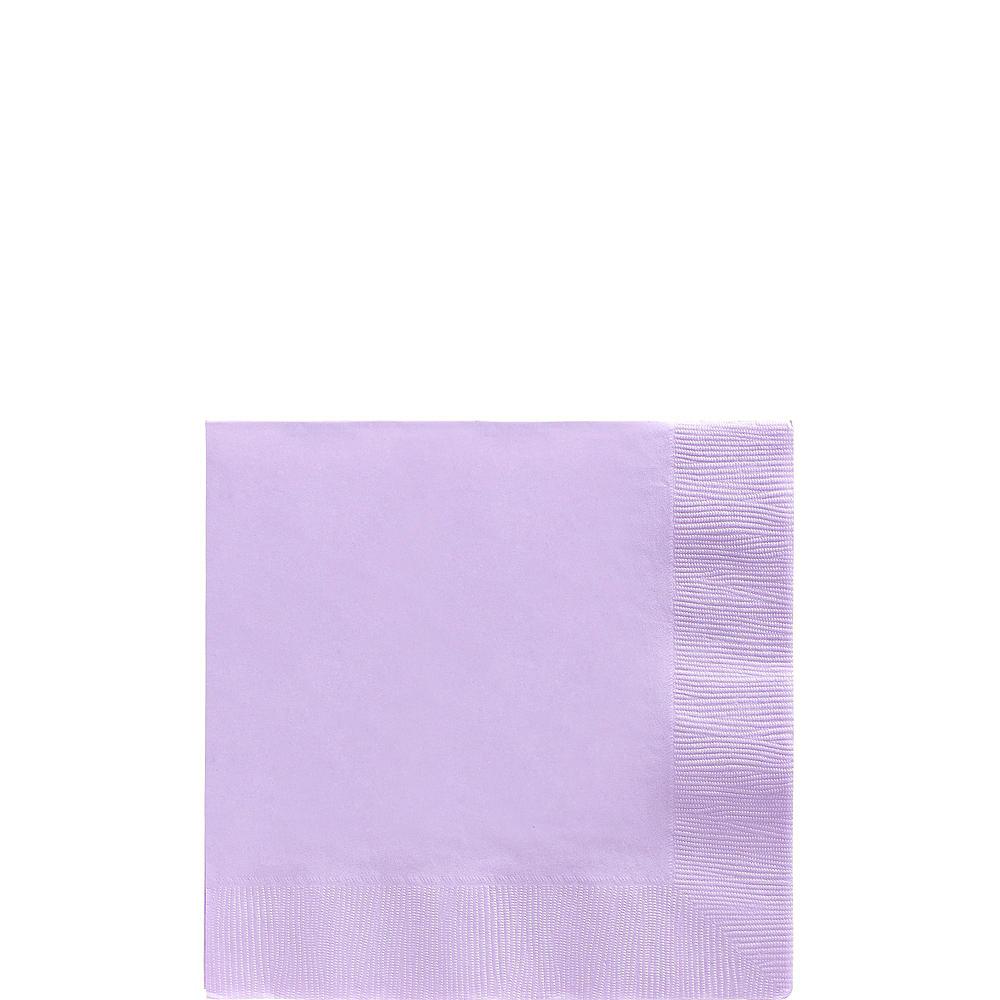 Lavender Tableware Kit for 20 Guests Image #4