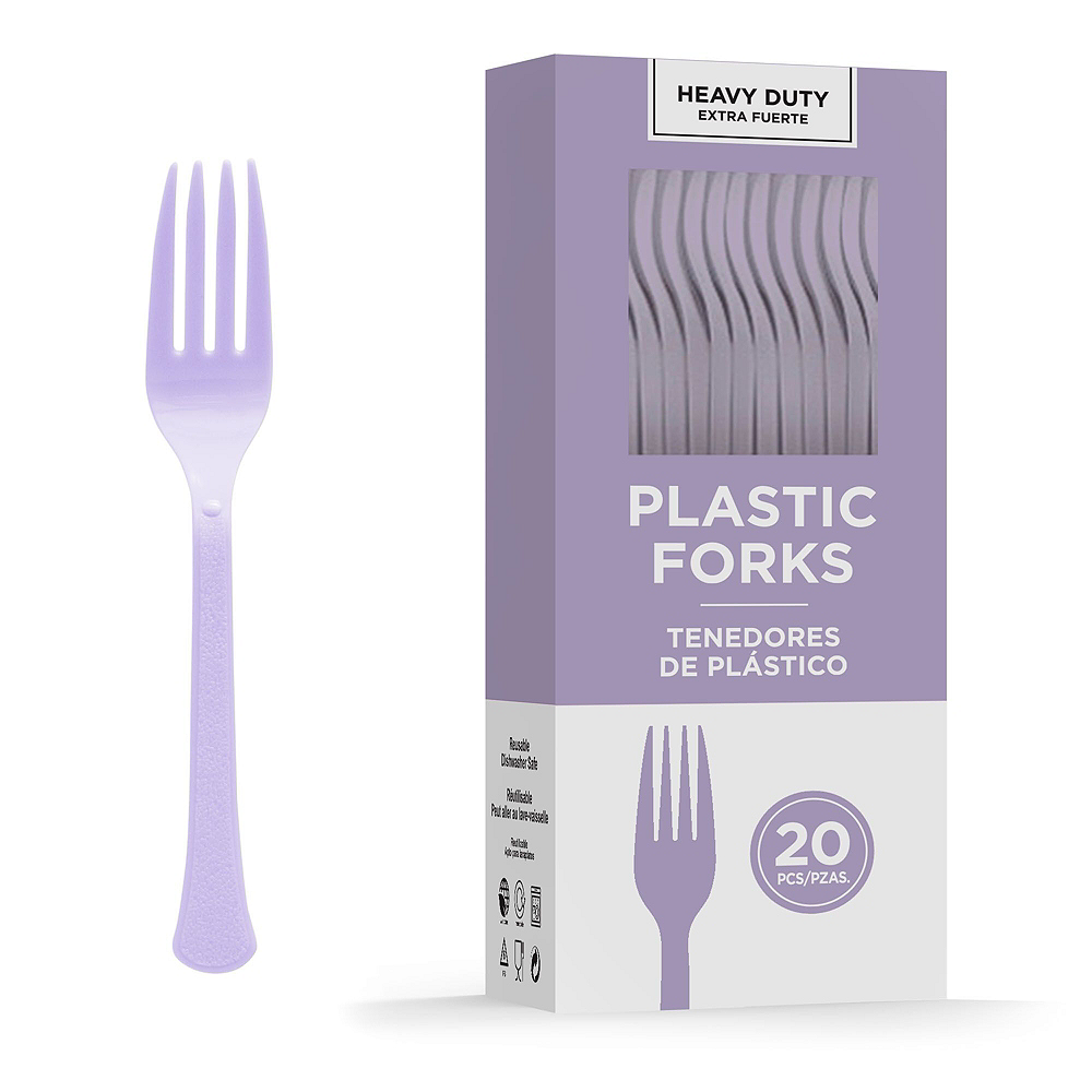 Lavender Tableware Kit for 20 Guests Image #8