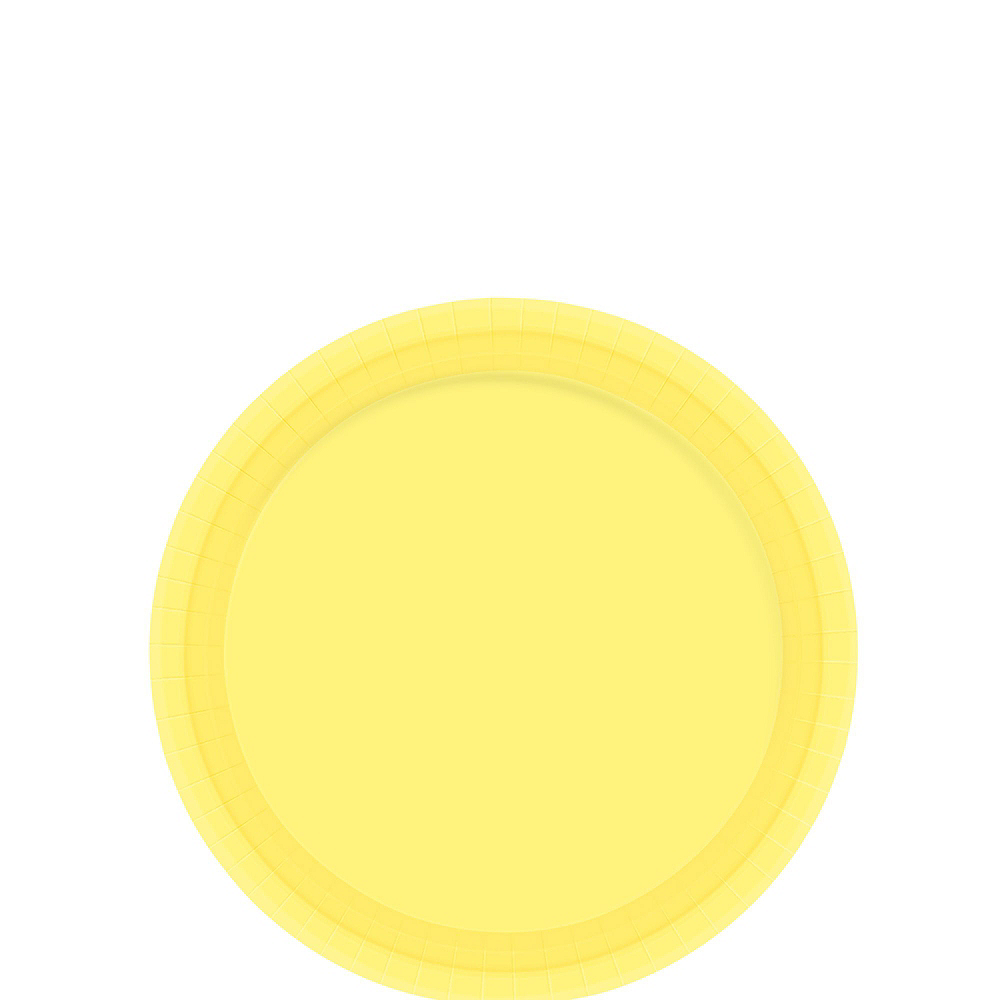 Light Yellow Tableware Kit for 20 Guests Image #2