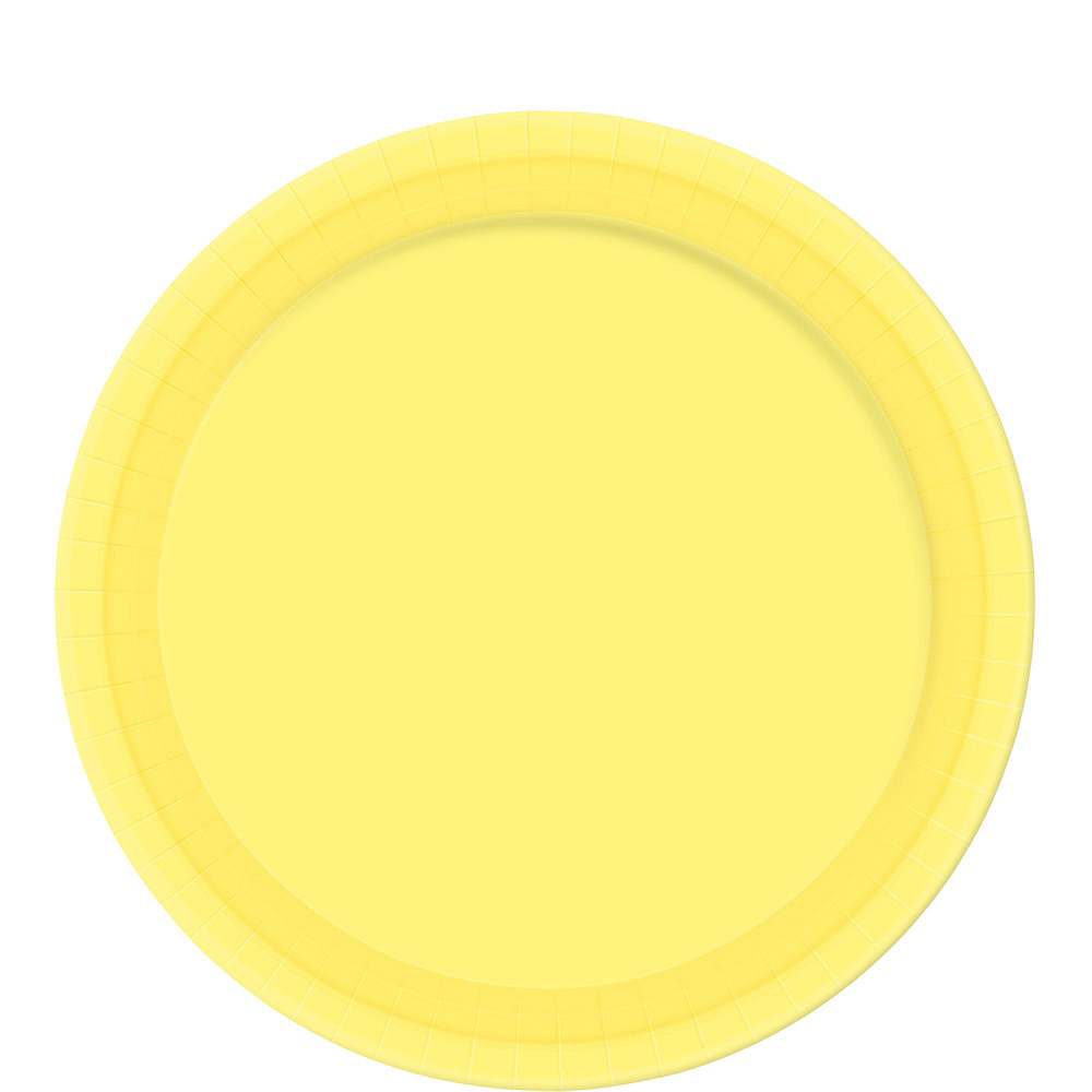 Light Yellow Tableware Kit for 20 Guests Image #3