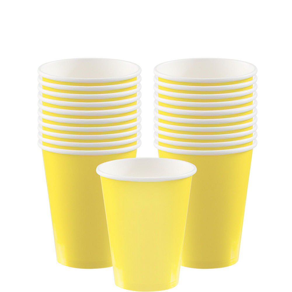 Light Yellow Tableware Kit for 20 Guests Image #6