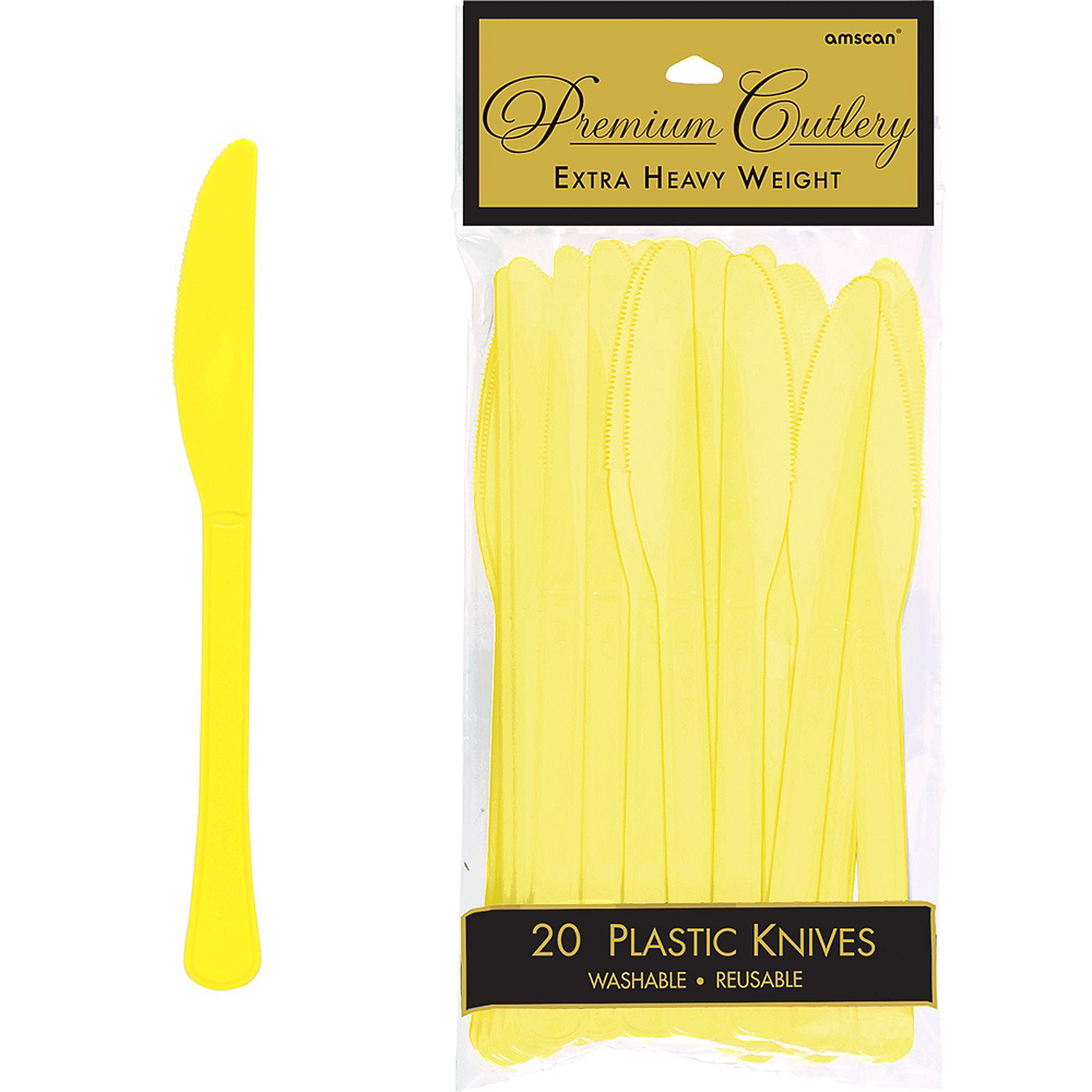Light Yellow Tableware Kit for 20 Guests Image #10