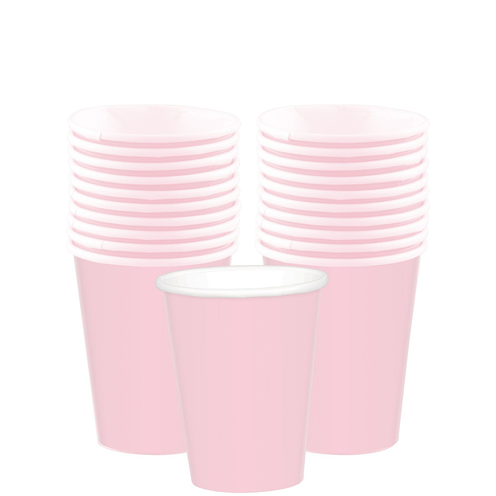 Blush Pink Tableware Kit for 20 Guests Image #6
