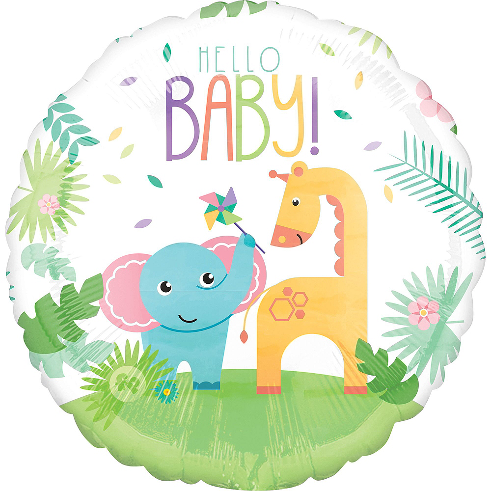 Fisher-Price Hello Baby Deluxe Balloon Bouquet, 9pc Image #2