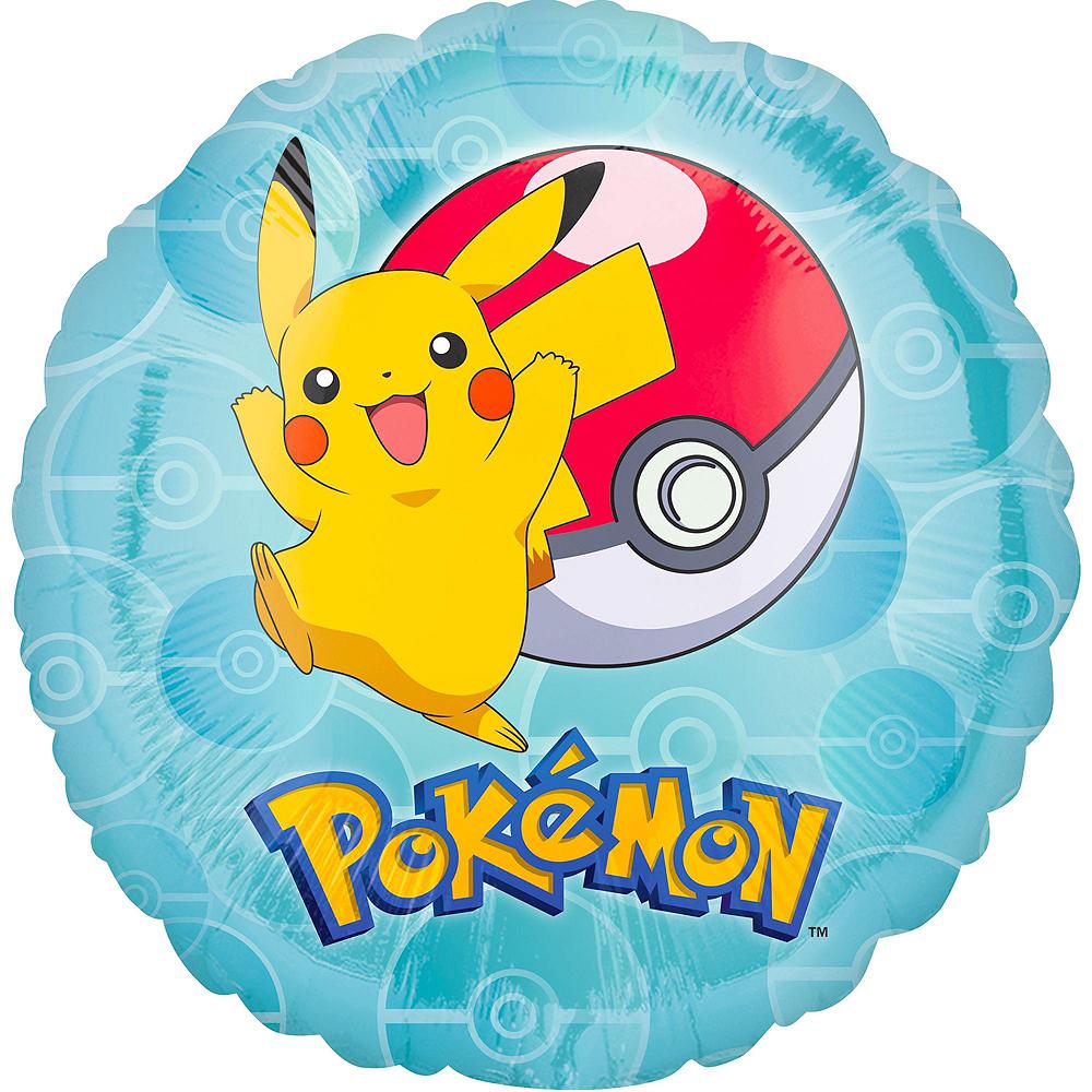 Pokemon Deluxe Balloon Bouquet, 9pc Image #2