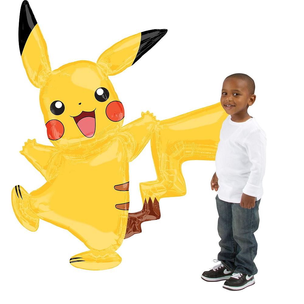 Pokemon Pikachu Deluxe Airwalker Balloon Bouquet, 8pc Image #2