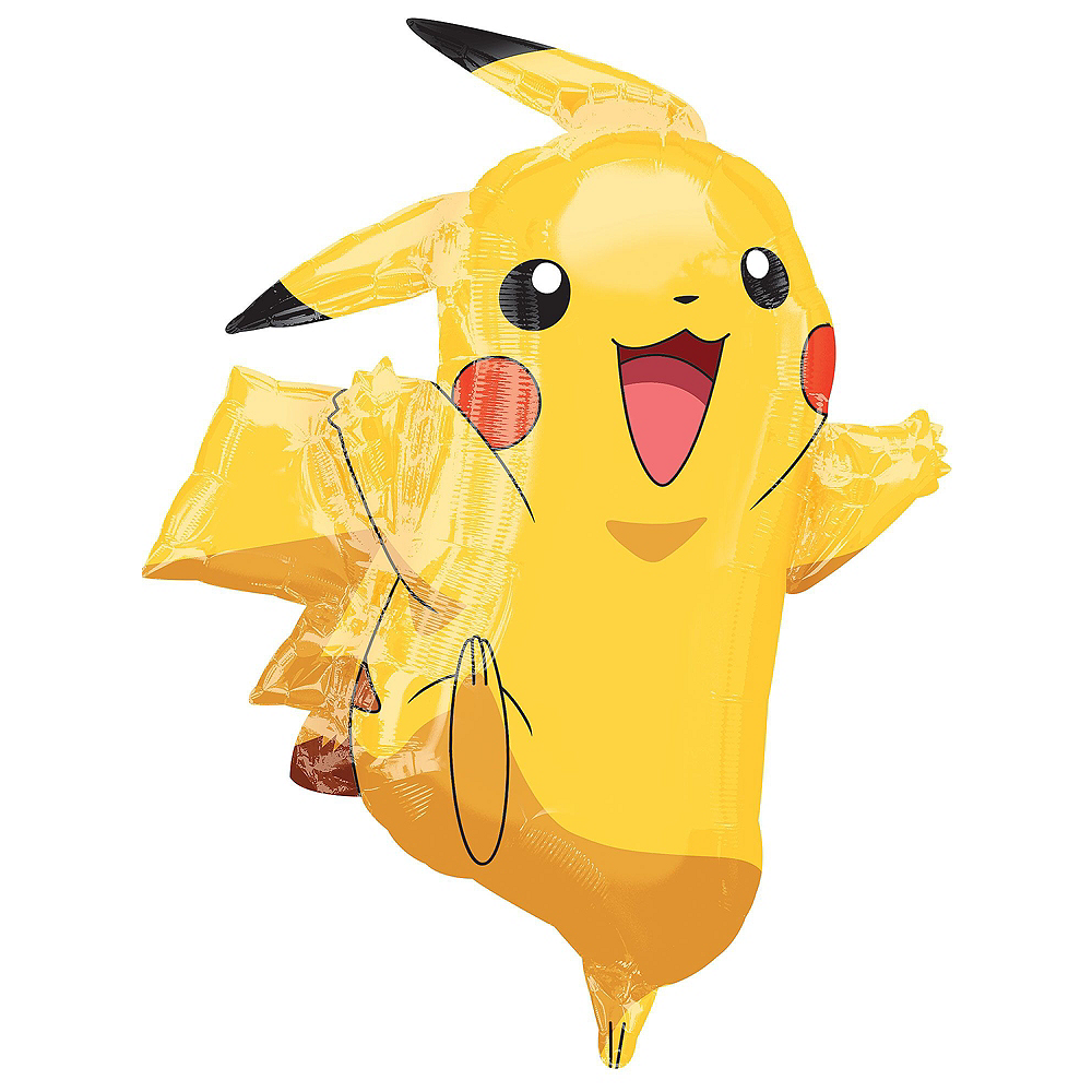 Pokemon Pikachu Deluxe Airwalker Balloon Bouquet, 8pc Image #3